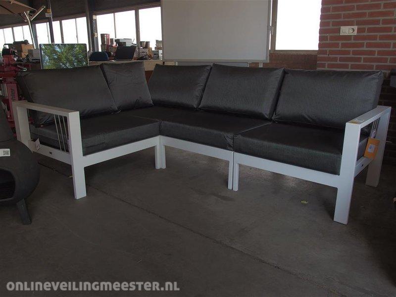 All Weather Kussens : Delige lounge set mikki life aluminium frame met kussens