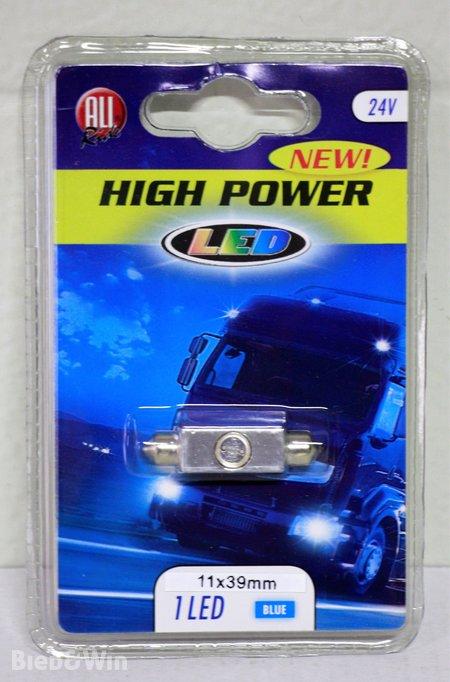 Ca. 50x LED verlichting voor auto of truck, blauw - Biedenwin.nl