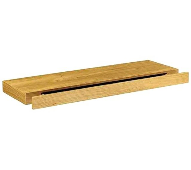 Zwevende Plank Met Lades.Zwevende Wandplank Met Lade Duraline Eiken