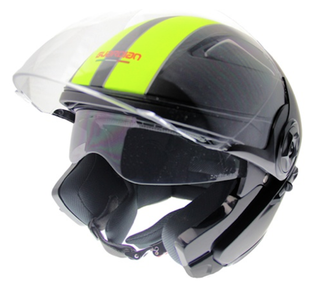 Motorcycle helmet size L with extra sun visor c10ca665352