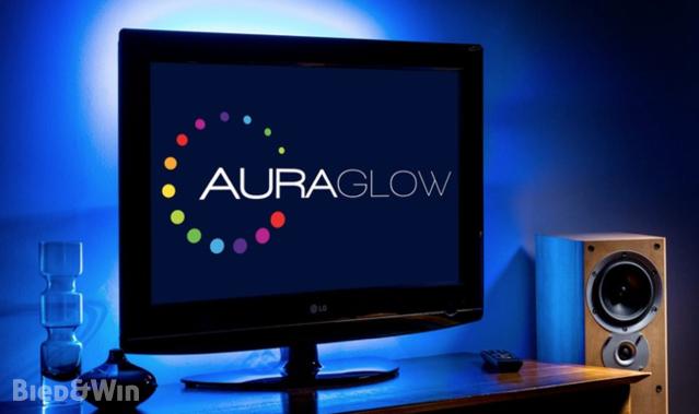 2x Led Color Changing Usb Tv Background Light Strips Auraglow
