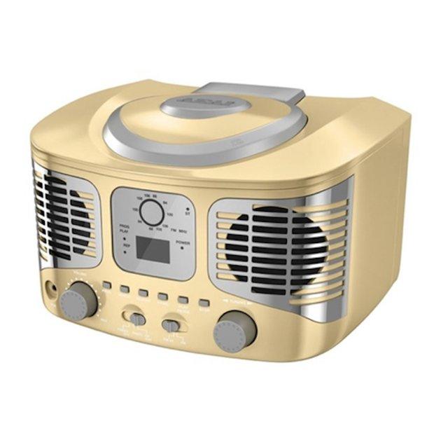 Betere Retro-stijl Boombox CD-speler Akai - Biedenwin.nl OO-42