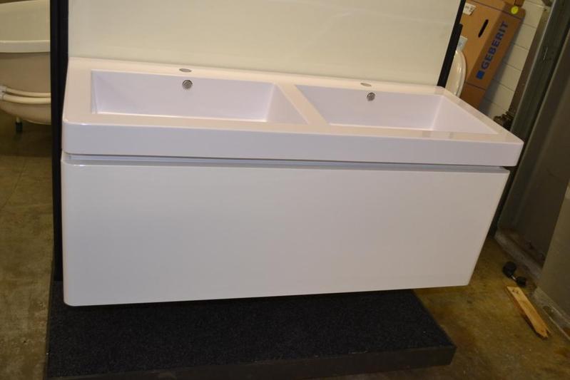 badmeubel rondo 120 cm wit 1 lade met softclose