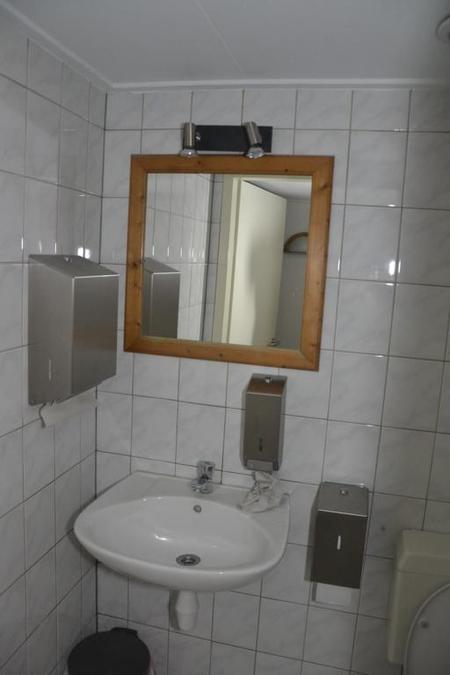 Papieren handdoekhouder zeepdispencer wc ro - Spiegel wc ontwerp ...